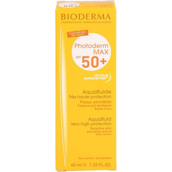 BIODERMA Photoderm Max Aquafluide SPF 50+ ungetönt