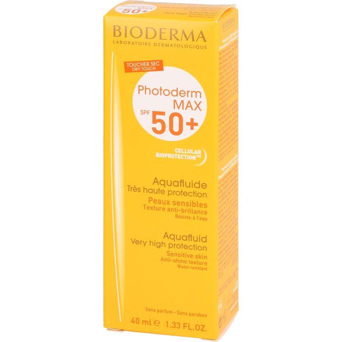 BIODERMA Photoderm Max Aquafluid SPF 50+ ungetönt