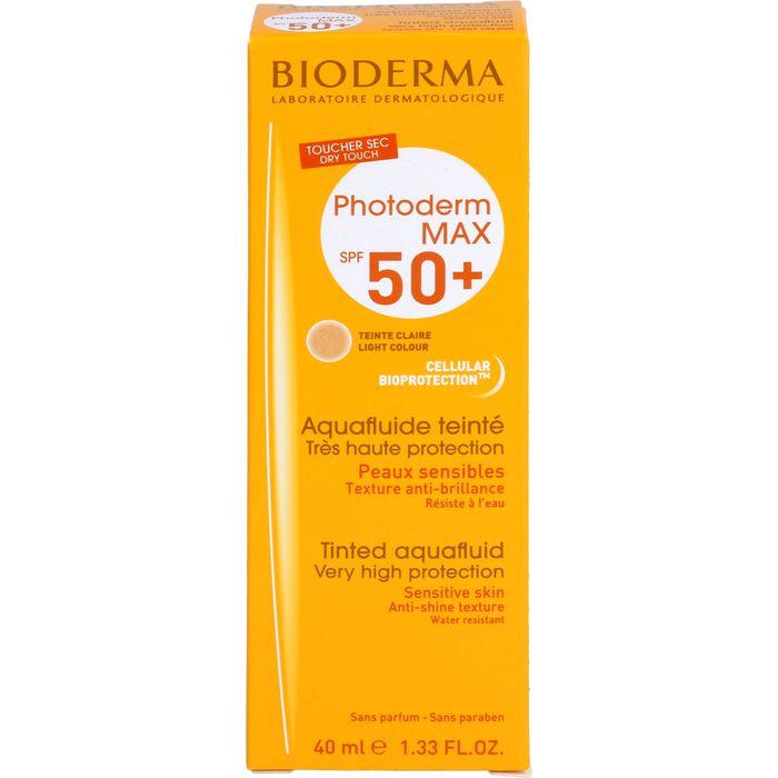 BIODERMA Photoderm Max Aquafluide SPF 50+ hell