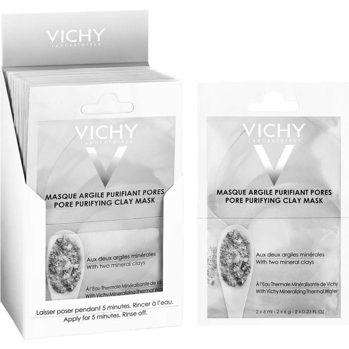 VICHY MASKE porenverfeinernd 2x6 ml