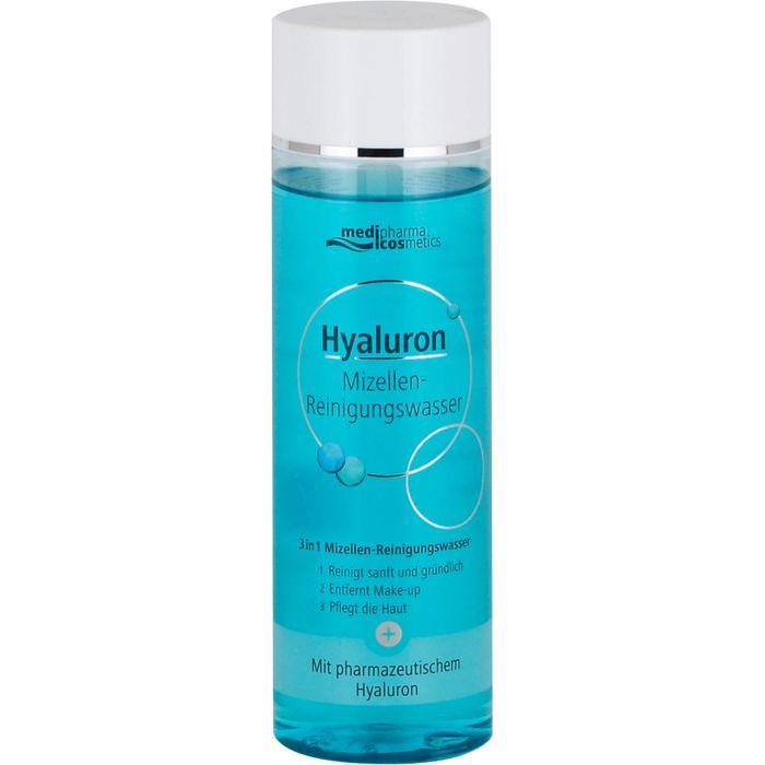 MediPharma cosmetics HYALURON Mizellen Reinigungswasser