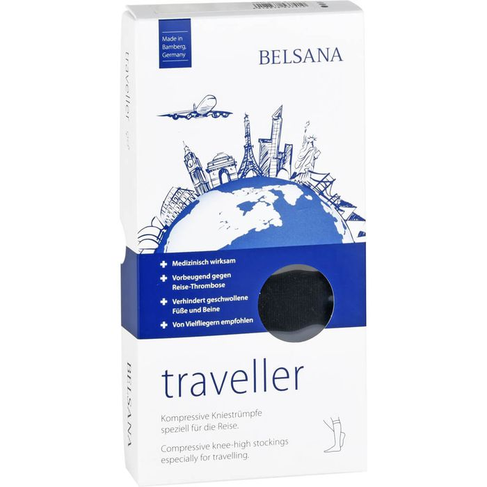 BELSANA traveller AD M schwarz Fuß 1 35-38