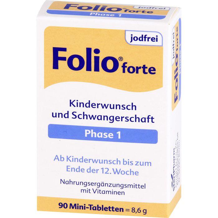 FOLIO 1 forte jodfrei Filmtabletten