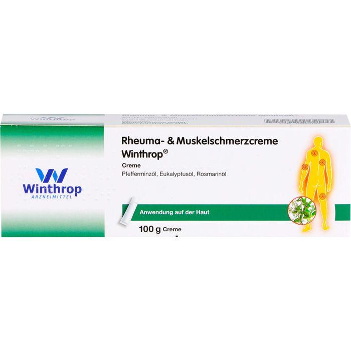 RHEUMA- & Muskelschmerzcreme Winthrop