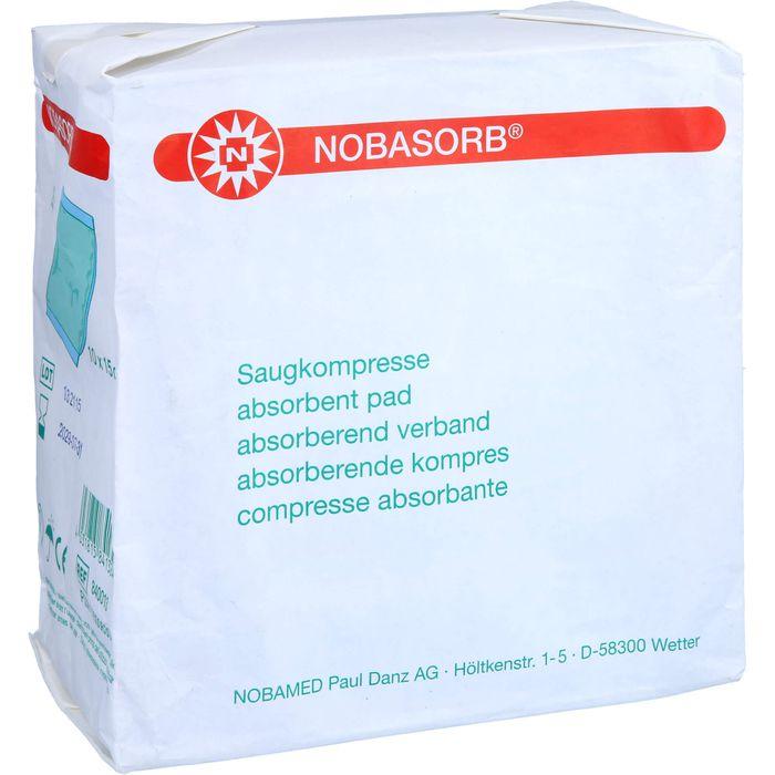 NOBASORB Saugkompressen 10x15 cm