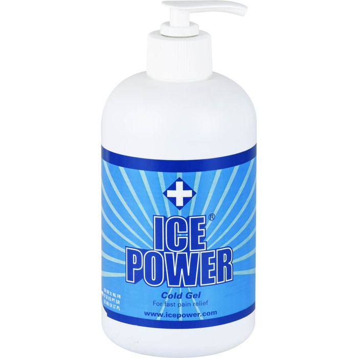 ICE POWER Cold Gel Pumpflasche
