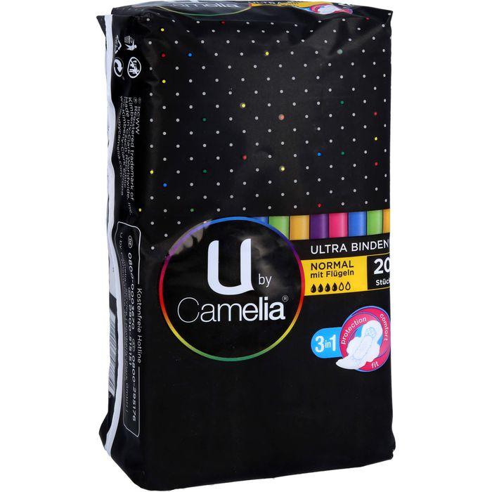 U by Camelia Ultra Binde m.Flügeln normal
