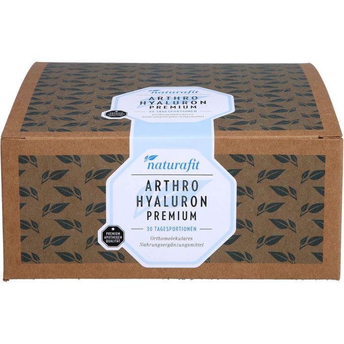NATURAFIT Arthro Hyaluron Premium Beutel