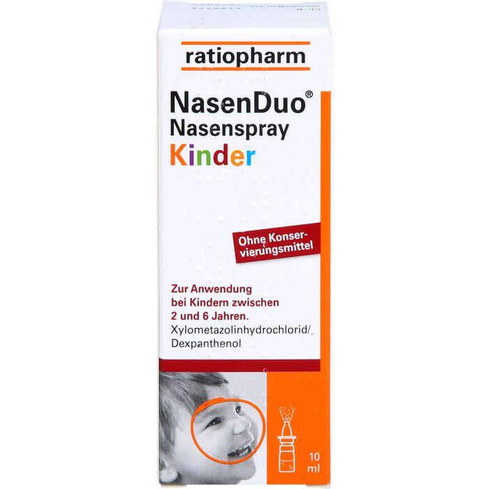 NASENDUO Nasenspray Kinder