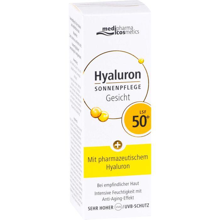 HYALURON SONNENPFLEGE Gesicht Creme LSF 50+