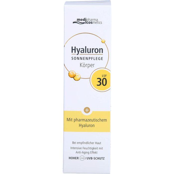 Medipharma Cosmetics HYALURON Sonnenpflege Körper LSF 30