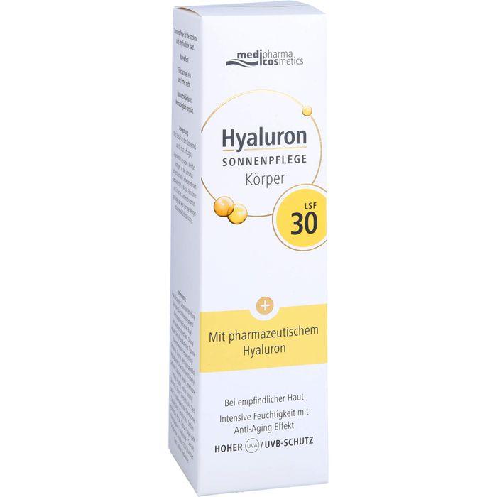 HYALURON SONNENPFLEGE Körper Creme LSF 30