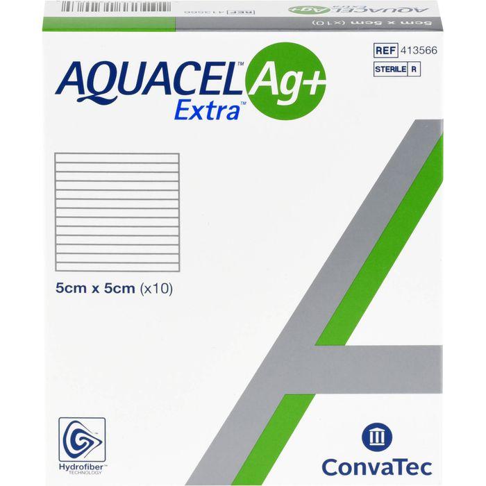 AQUACEL Ag+ Extra 5x5 cm Kompressen