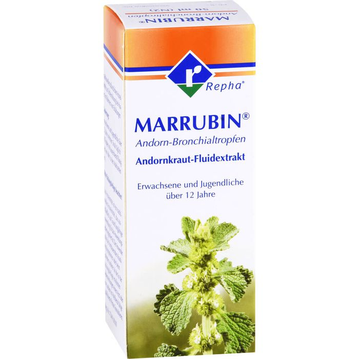 MARRUBIN Andorn-Bronchialtropfen