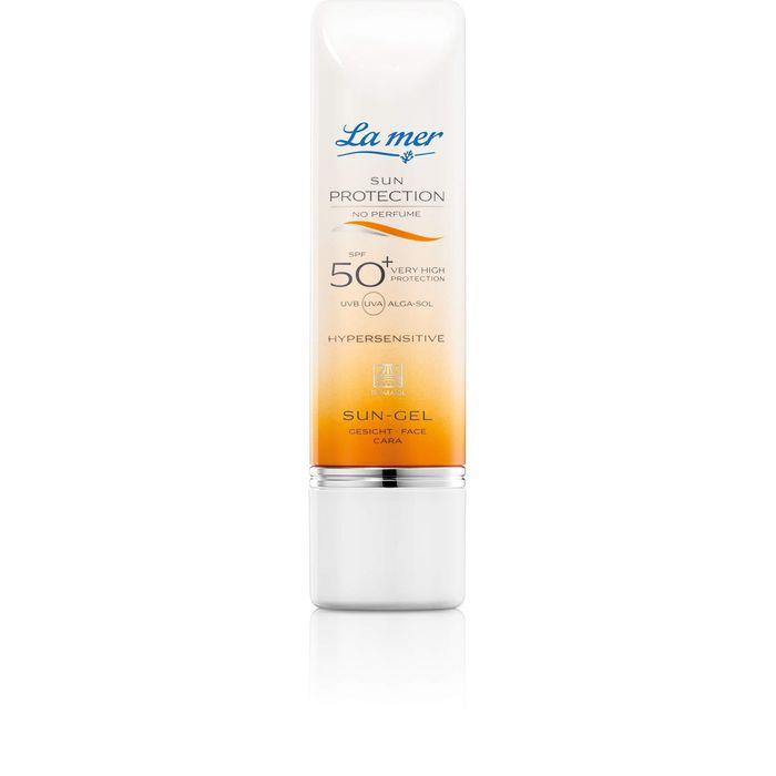LA MER SUN Protection Sun-Gel SPF 50+ Gesicht ohne Parfum