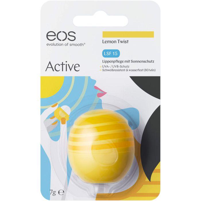 EOS Lip Balm Lemon drop LSF 15
