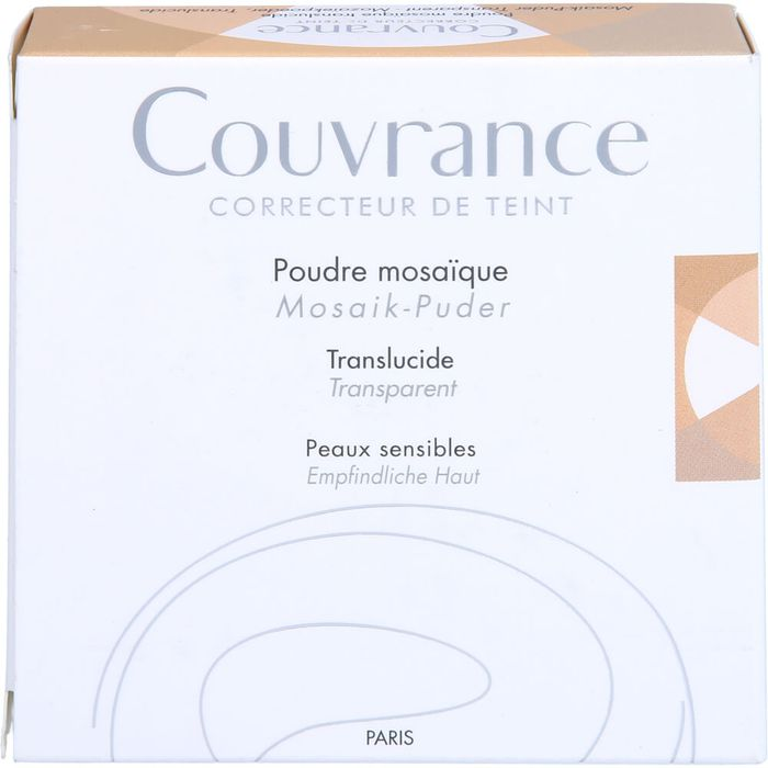 AVENE Couvrance Mosaik-Puder transparent