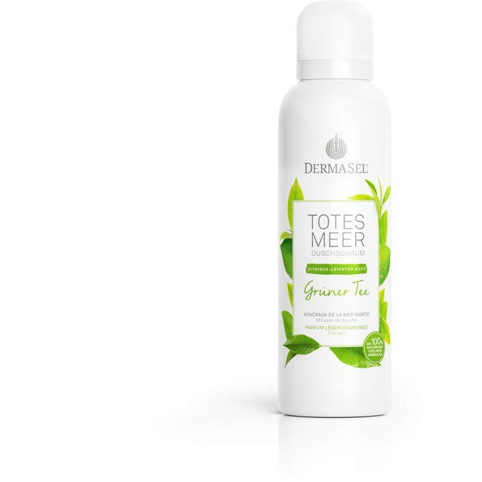 DERMASEL Duschschaum grüner Tee limited edition