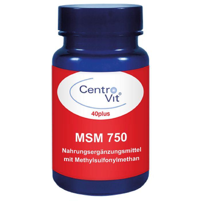 CENTROVIT 40plus MSM 750 Kapseln