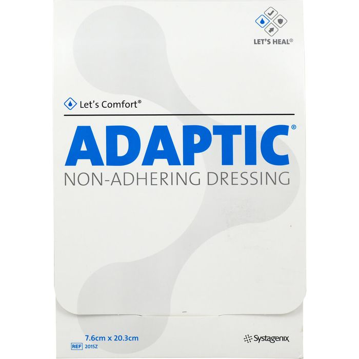 ADAPTIC 7,6x20,3 cm feuchte Wundauflage 2015