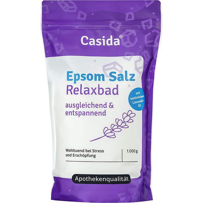 Casida EPSOM Salz Relaxbad mit Lavendel