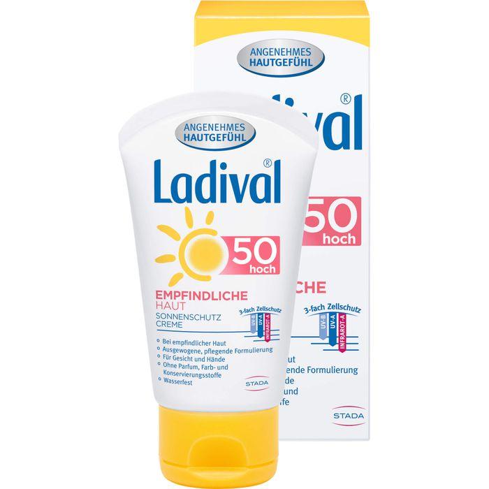 LADIVAL empfindliche Haut Creme LSF 50