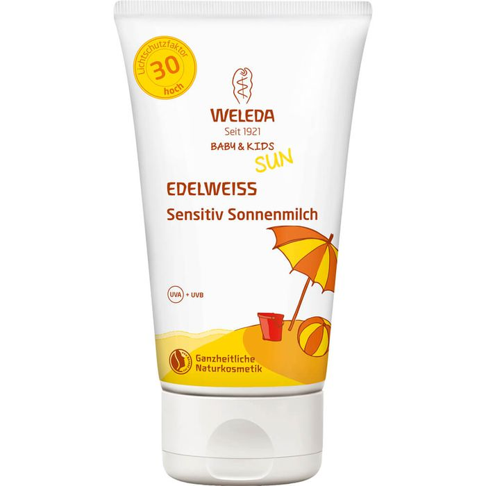 WELEDA Edelweiss Sensitiv So.Mil.LSF 30 Baby & Kid