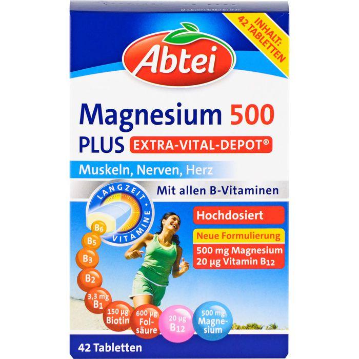 ABTEI Magnesium 500 Plus Extra-Vital-Depot Tabl.
