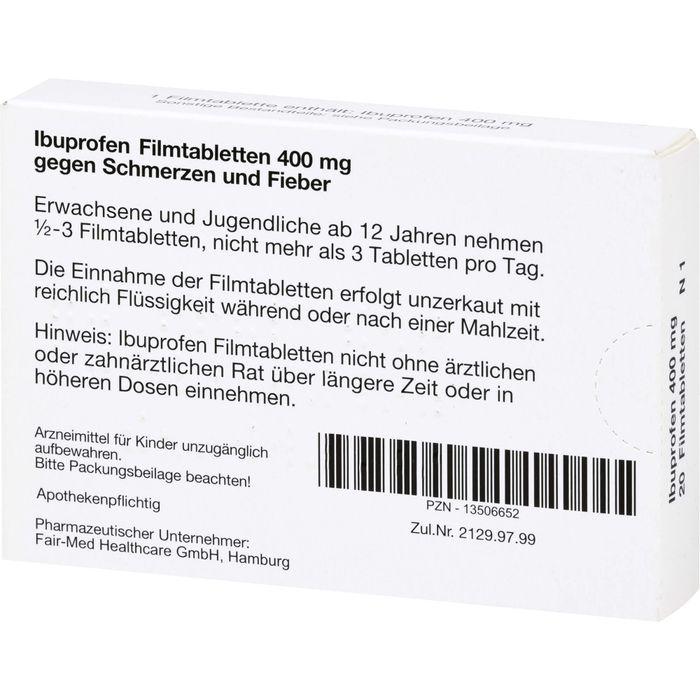 IBUPROFEN 400 mg Filmtabletten