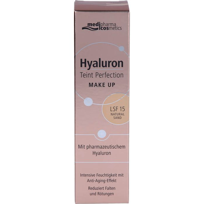 Medipharma Cosmetics HYALURON TEINT Perfection Make-up natural sand