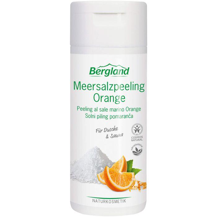 Bergland MEERSALZPEELING Orange