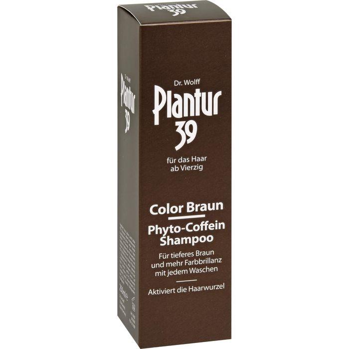 PLANTUR 39 Color Braun Phyto-Coffein-Shampoo