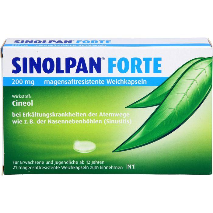 SINOLPAN forte 200 mg magensaftres.Weichkapseln