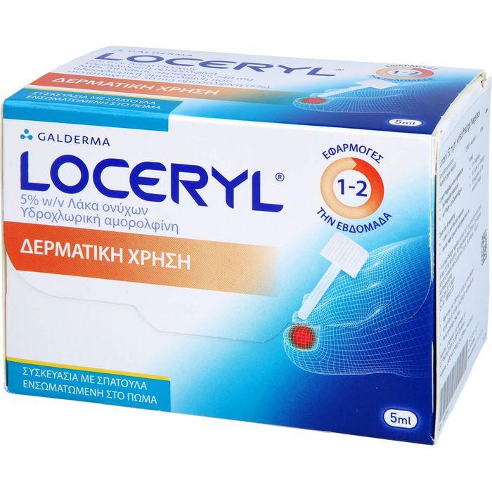 LOCERYL 50 mg/ml Nagell.gg.Nagelp.DIREKT-Applikat.