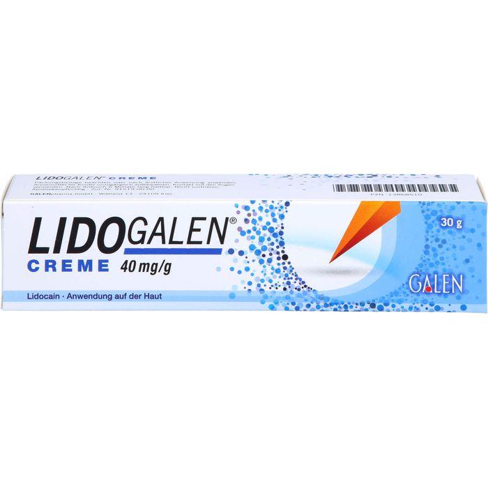 LIDOGALEN 40 mg/g Creme