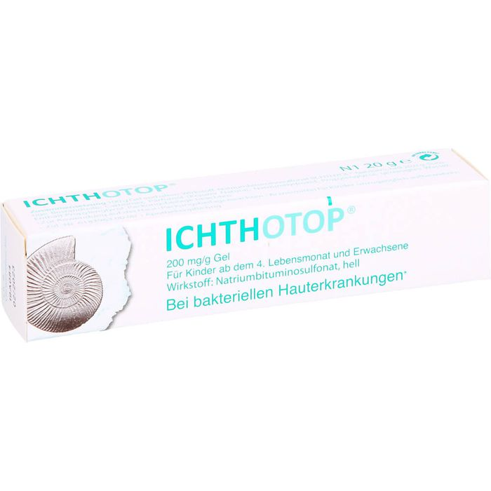 ICHTHOTOP 200 mg/g Gel