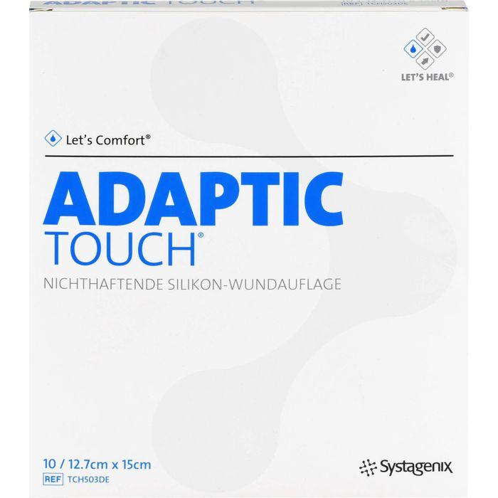ADAPTIC Touch 12,7x15 cm non-adhe.Sil.Wundauflage