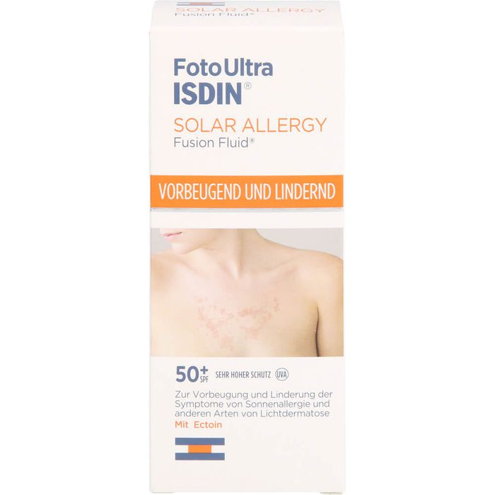 ISDIN FotoUltra Solar Allergy Fusion Fluid