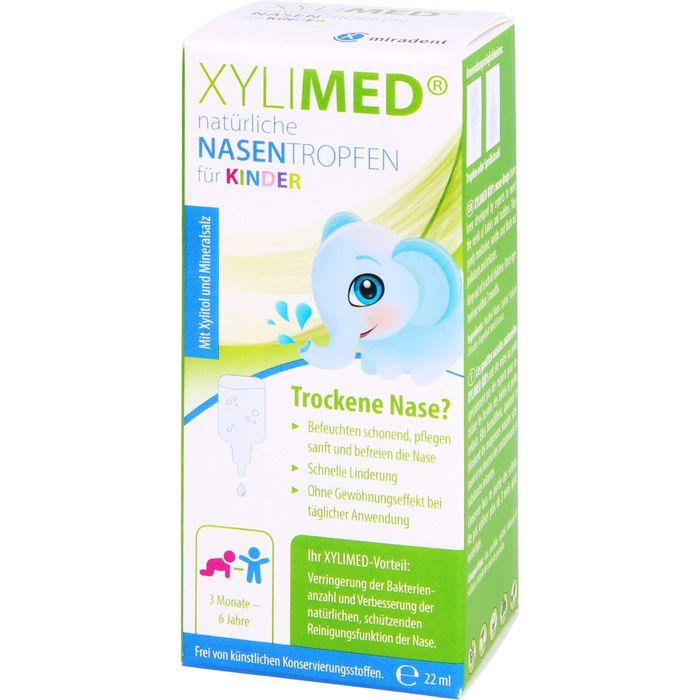 MIRADENT Xylimed Kid's natürliche Nasentropfen