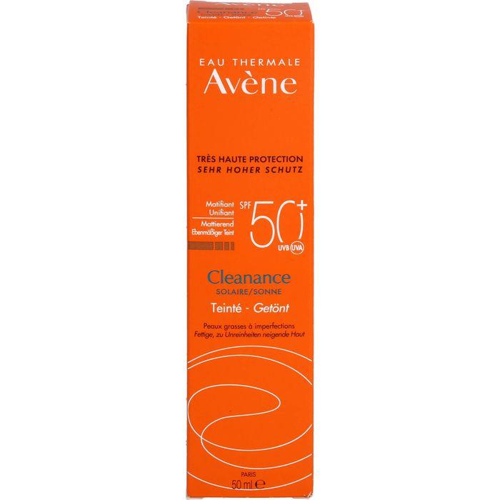 AVENE SunSitive Cleanance Sonne Emulsion SPF 50+ getönt