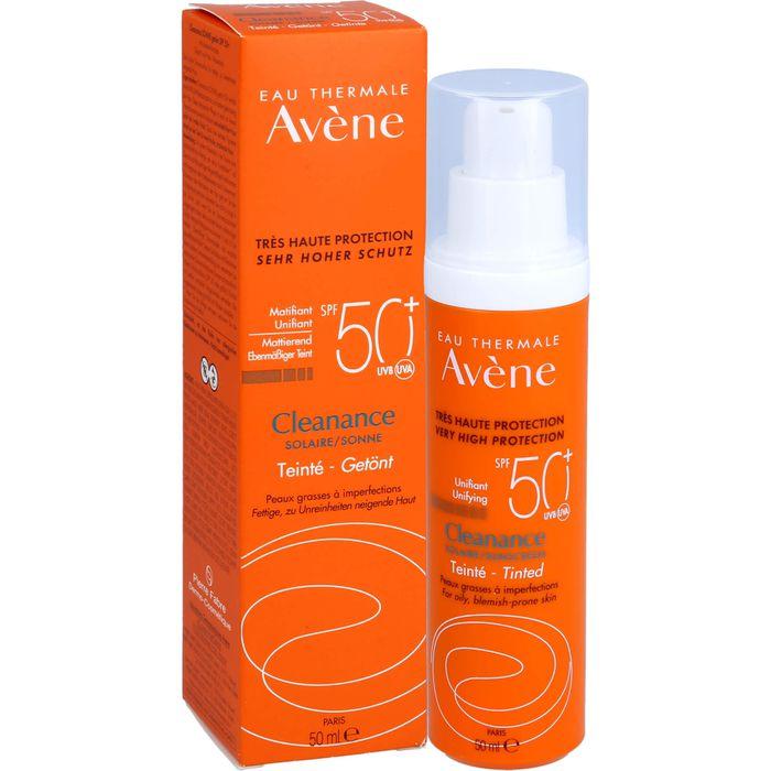 AVENE SunSitive Cleanance Sonne Emu.SPF 50+ getönt