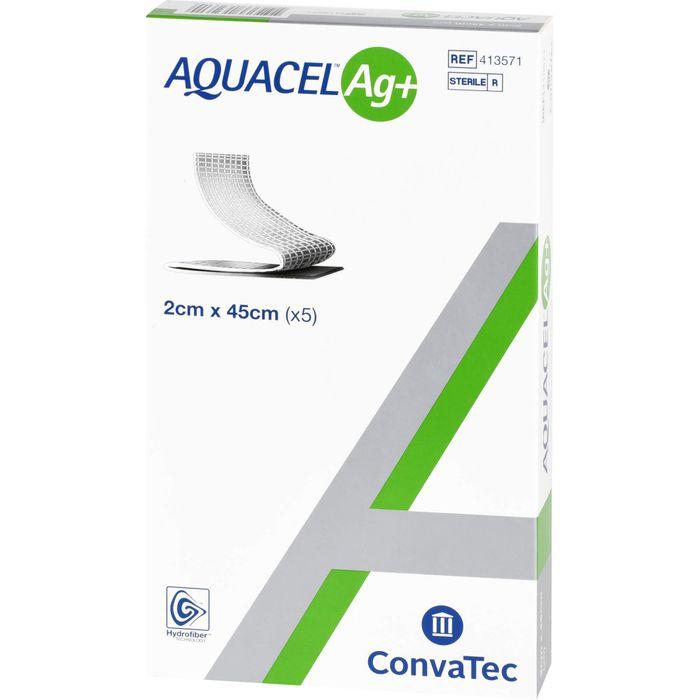 AQUACEL Ag+ 2x45 cm Tamponaden