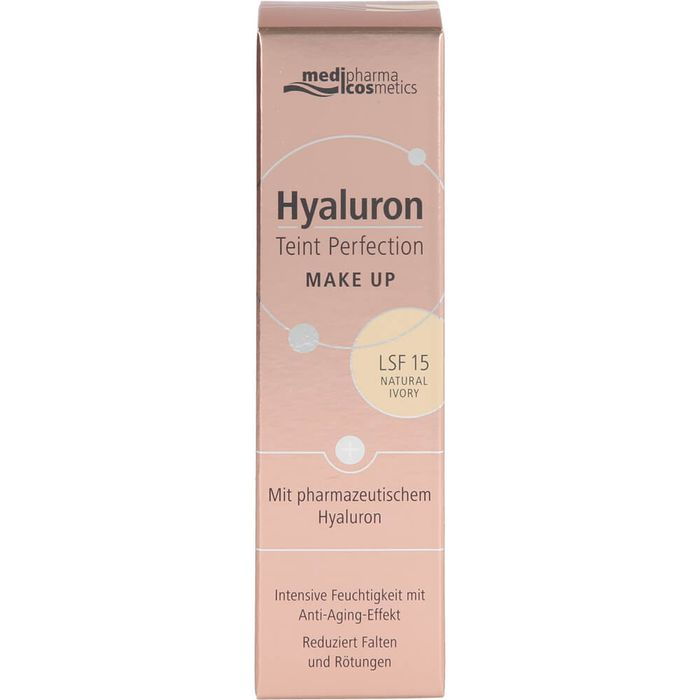 Medipharma Cosmetics HYALURON TEINT Perfection Make-up natural ivory