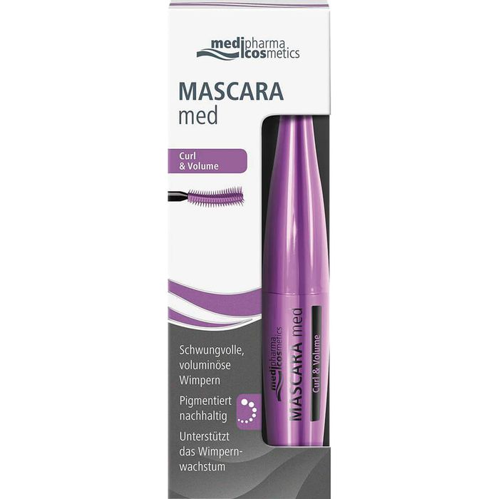 Medipharma Cosmetics MASCARA med Curl & Volume