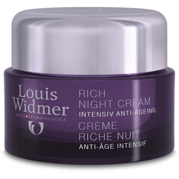 WIDMER Rich Night Cream leicht parfümiert