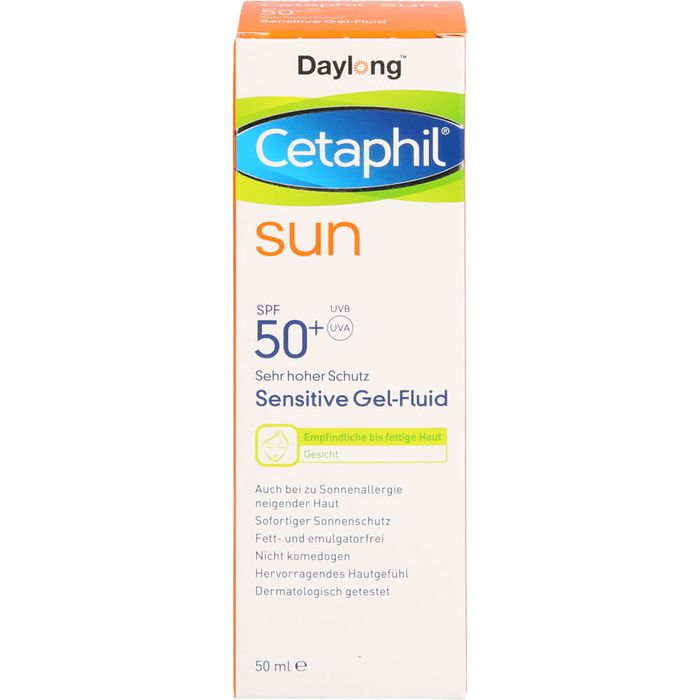 CETAPHIL Sun Daylong SPF 50+ sens.Gel-Fluid Gesicht