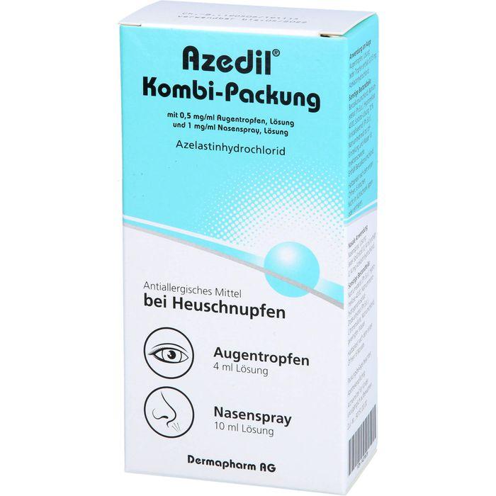 AZEDIL Kombi-Packung 0,5mg/ml AT 1mg/ml Nasenspr.