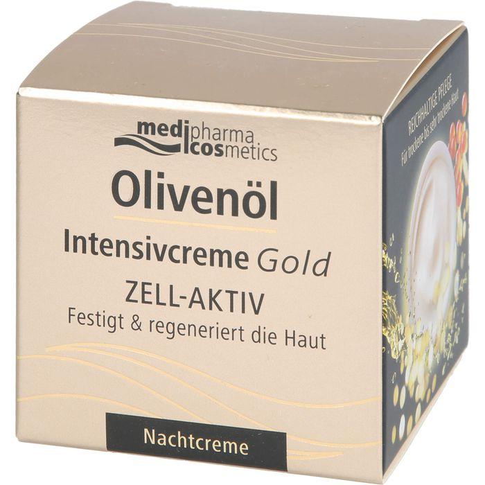 OLIVENÖL INTENSIVCREME Gold ZELL-AKTIV Nachtcreme