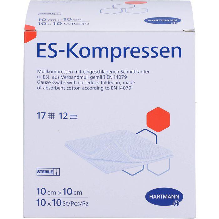 ES-KOMPRESSEN steril 10x10 cm Großpackung