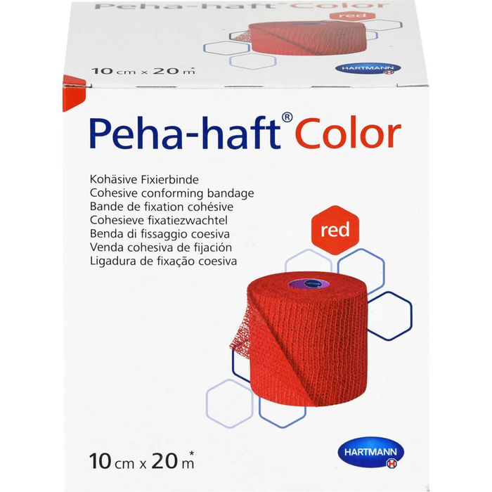 PEHA-HAFT Color Fixierb.latexfrei 10 cmx20 m rot